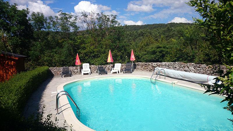 Accueil for Gite piscine aveyron